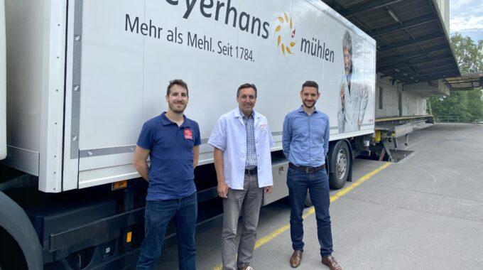Erfolgreiche Abnahme Bei Meyerhans Mühlen AG In Weinfelden